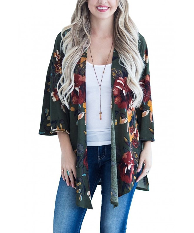 Floral Season Ladies Cardigans X Large