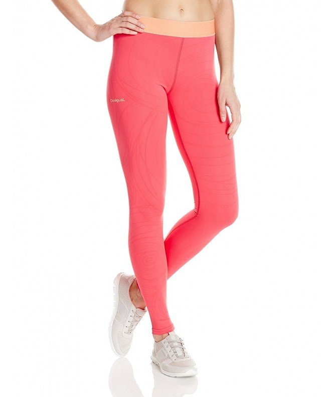 Desigual Athletic Leggings Contemporary Paradise