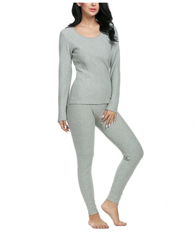 Opino Womens Thermal Underwear Fleece