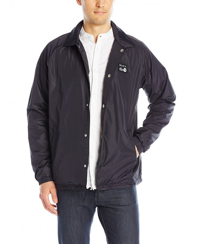 RVCA Coach Jacket Black Large