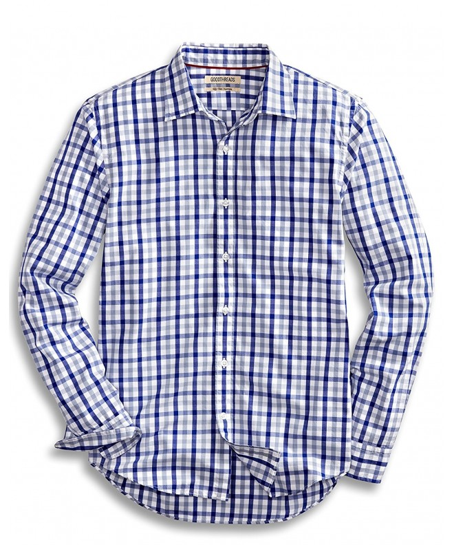 Goodthreads Slim Fit Long Sleeve Checked Shirt
