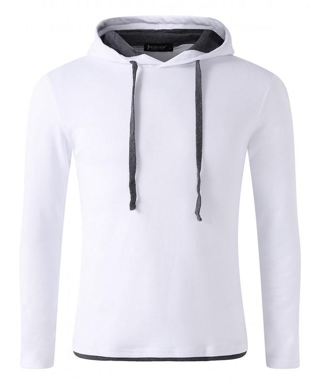 MODCHOK Sleeve Hoodies Sweatshirts Pullover