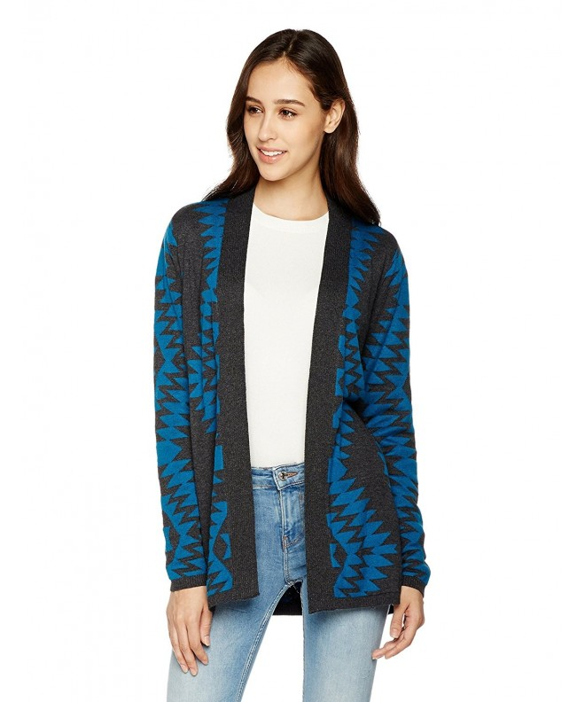 True Angel Long Sleeve Jacquard Cardigan