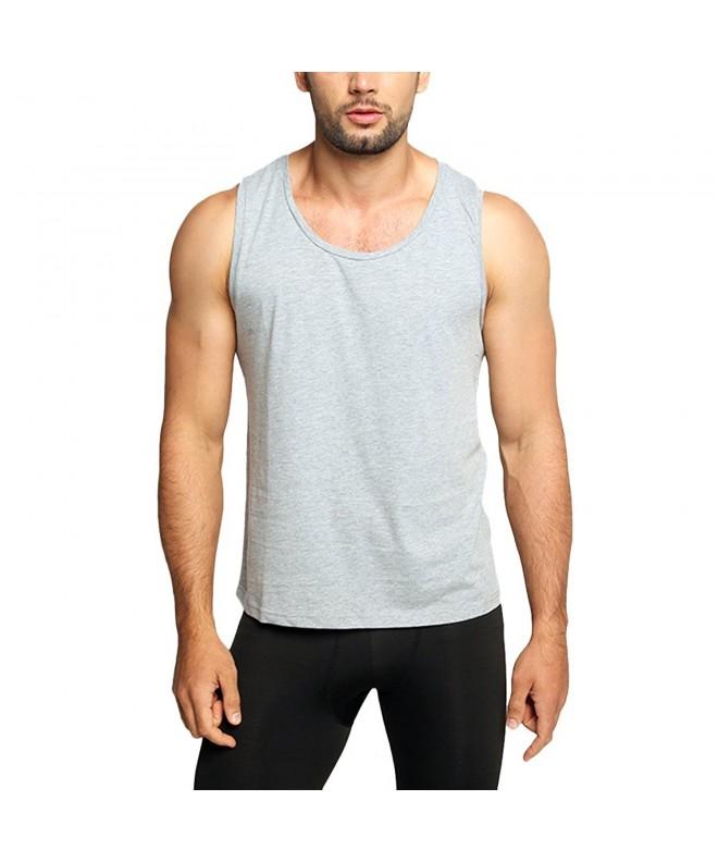 OA Mens Muscle Vest Scoop