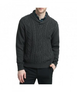 Kallspin Relaxed Pullover Fisherman Charcoal