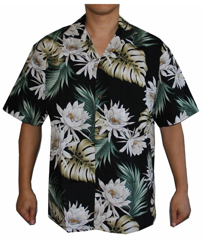 Alohawears Clothing Company Monstera Hawaiian