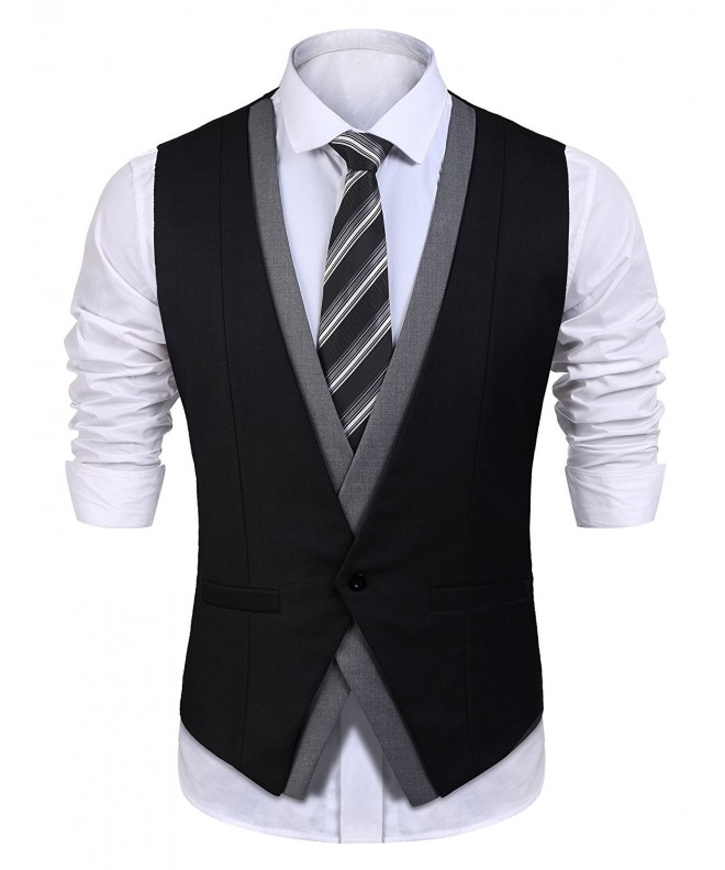 Detailorpin Business Casual Wedding Waistcoat