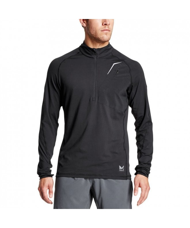 Mission VaporActive Lightweight Pullover Moonless