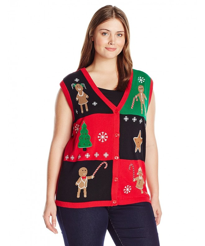 Isabellas Closet Gingerbread Christmas Sweater
