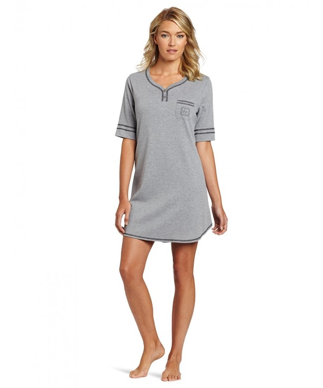 Karen Neuburger Womens Nightshirt Heather