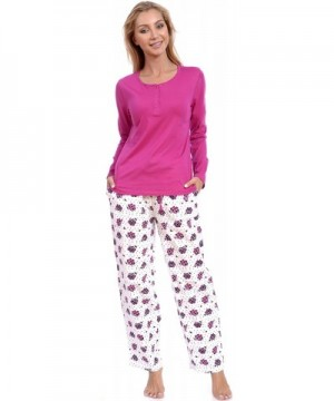 Patricia Womens Pajama Cotton Loungewear