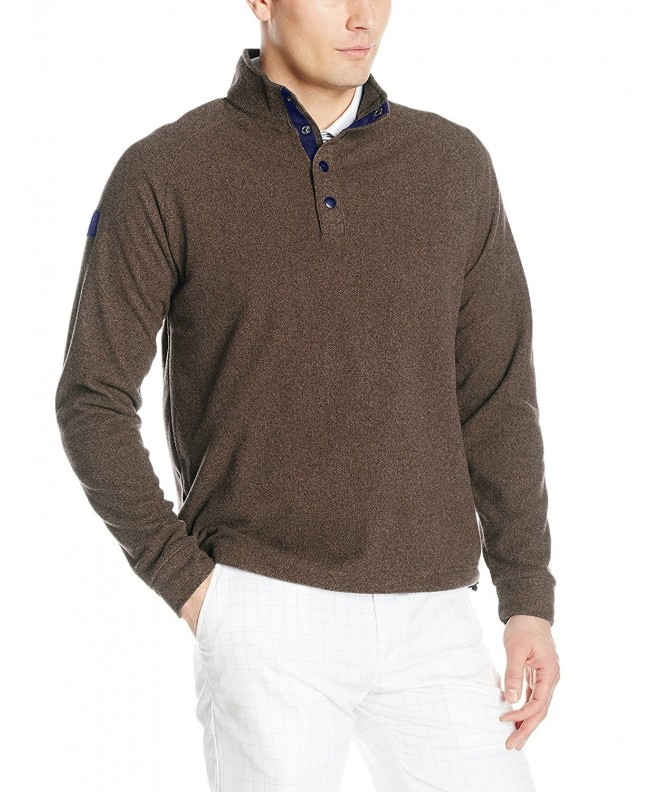 Greg Norman Heather Fleece Pullover