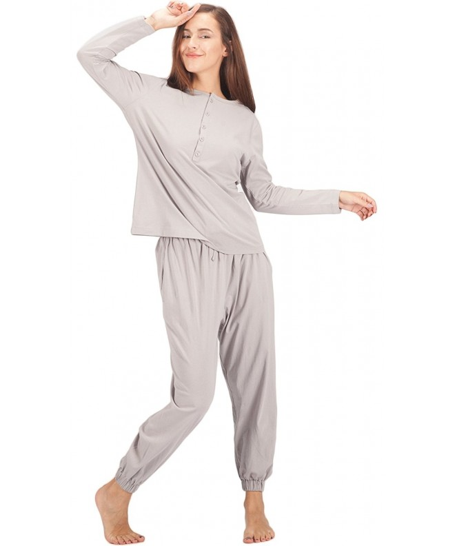 WEWINK CUKOO Womens Cotton Sleepwear