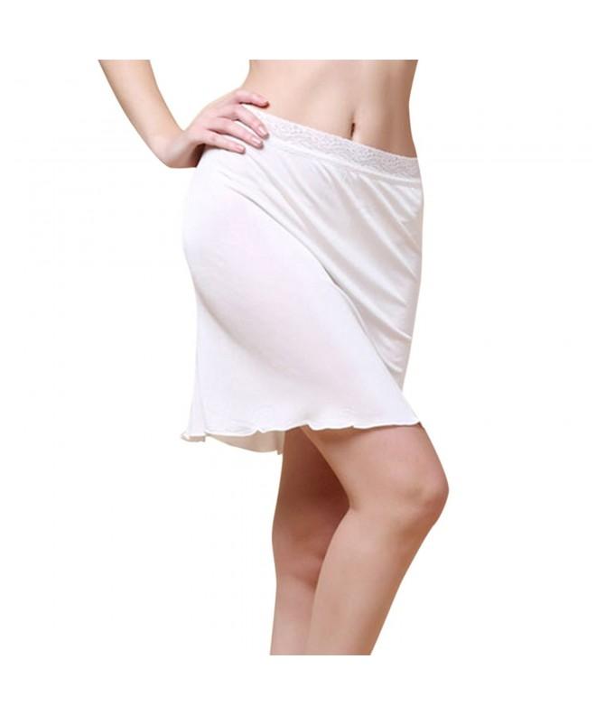 LAPAYA Womens Adjustable Stretchy Underskirt