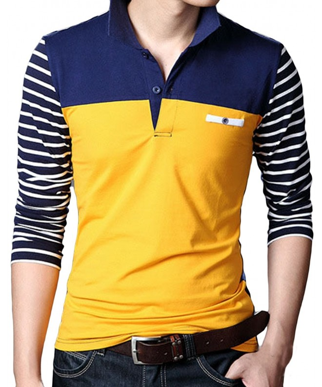 Sandbank Casual Striped Sleeve Shirts