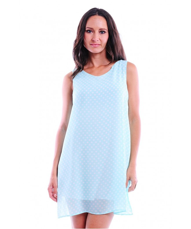 Simply Ravishing Womens Sleeveless Chiffon