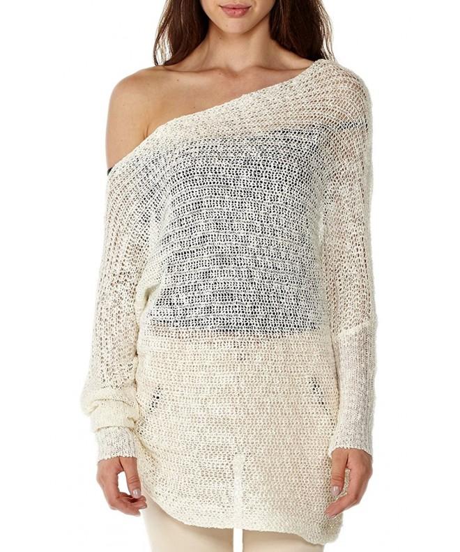 Dinamit Boatneck Dollman Sleeve Pullover