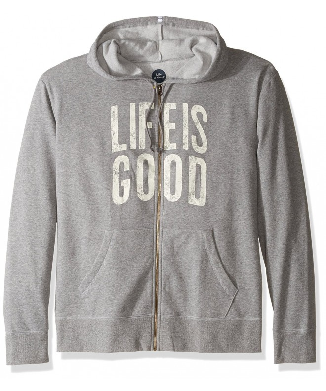 Life good Hoodie Heather Small