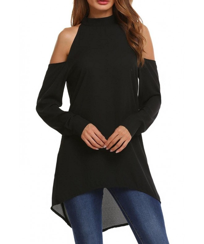 Soteer Womens Shoulder Cutouts Black L