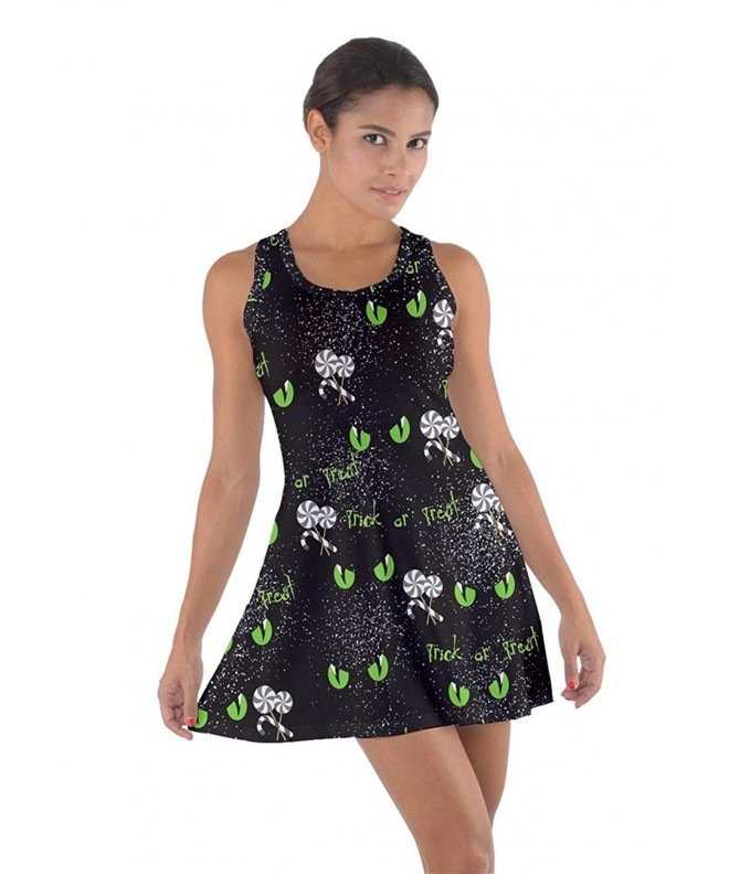 CowCow Womens Cotton Racerback Dress