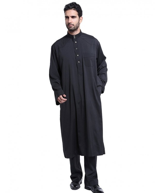 GladThink Thobe Sleeves Muslim Length