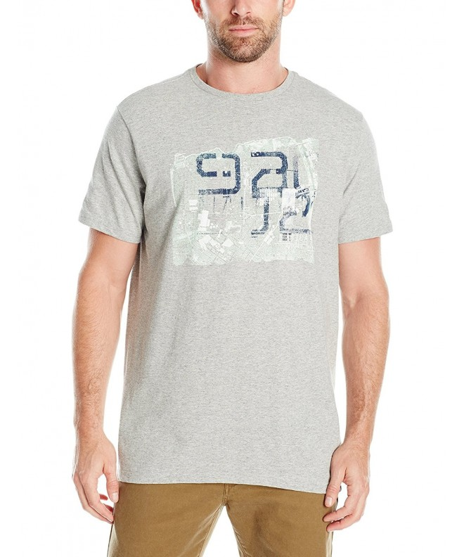 Nautica Graphic T Shirt Heather Large