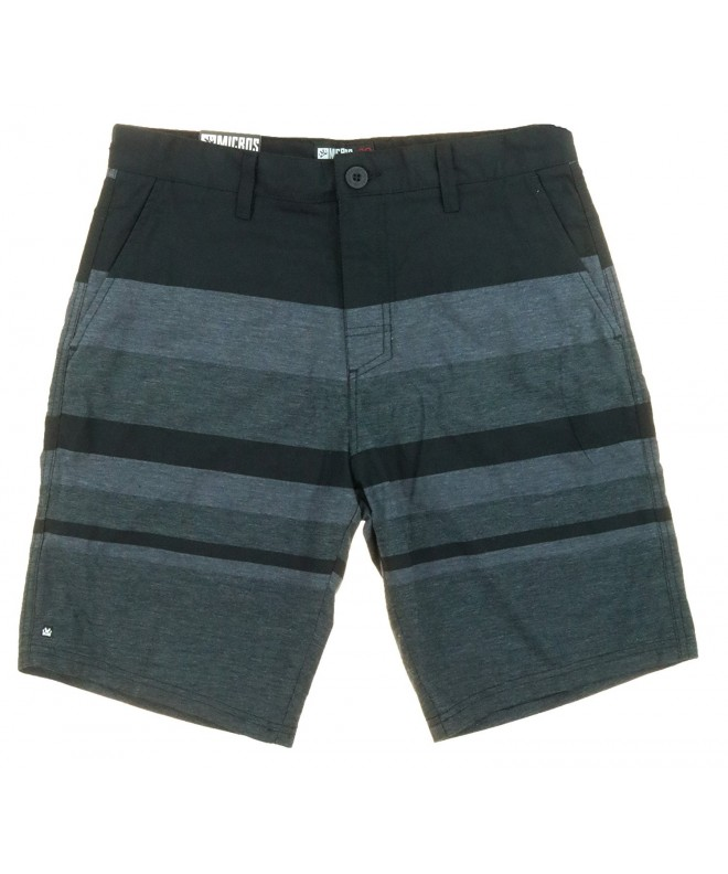 Micros Front Causal Shorts Black
