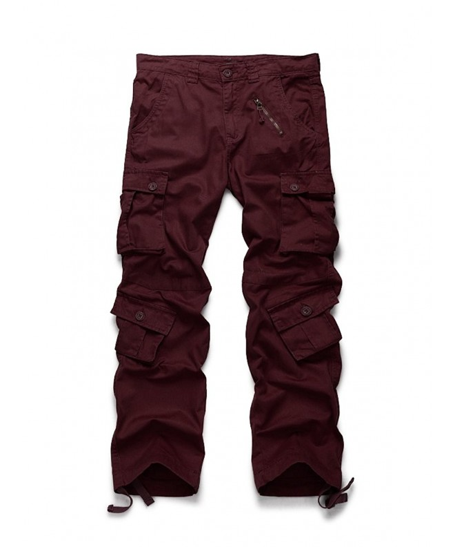 OCHENTA Outdoor Military Pockets Bordeaux