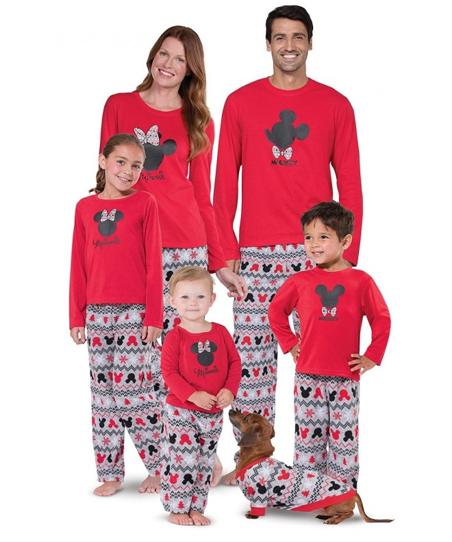 Mickey Minnie Matching Family Pajamas