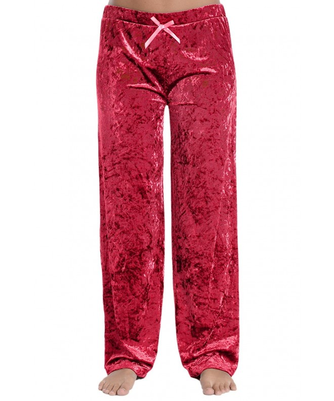 Cozy Loungewear Womens Lightweight Burgundy