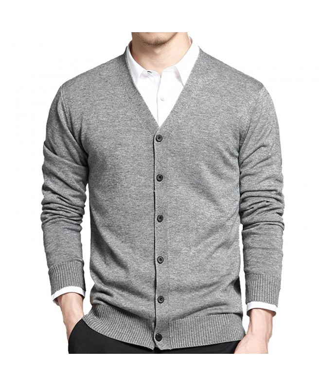 Basic Sleeve Button Knitted Cardigan