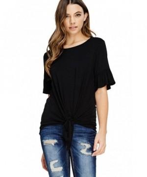 Annabelle Womens T Shirt Blouses 3X Large