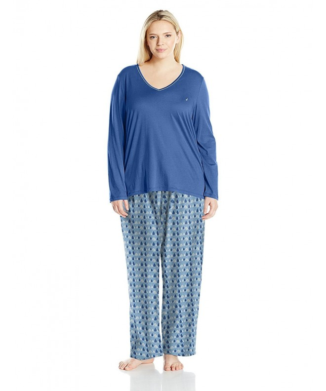 Nautica Womens Flannel Pajama Igloo