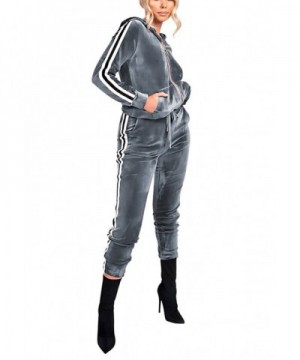 Vamvie Womens Jogging Striped Tracksuit