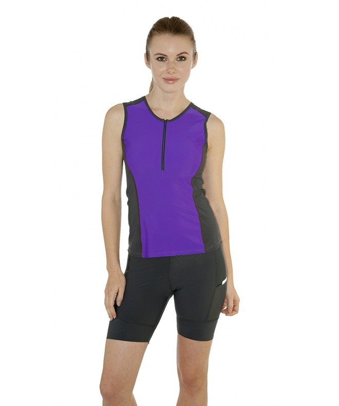 MooMotion Womens Contour Sleeveless Jersey