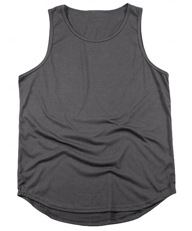 Vogstyle Hipster Sleeveless Length Gray