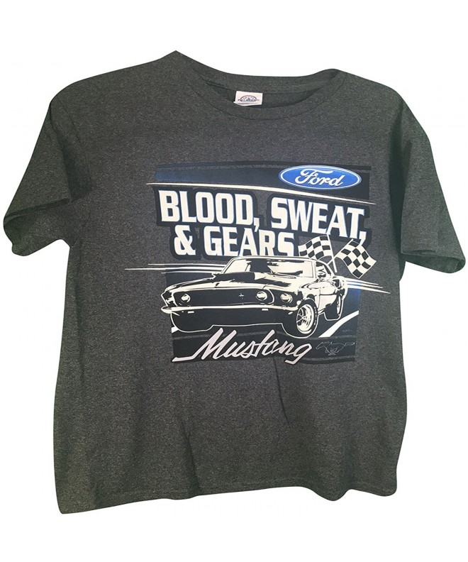 Mustang Blood Sweat T Shirt Grey XL