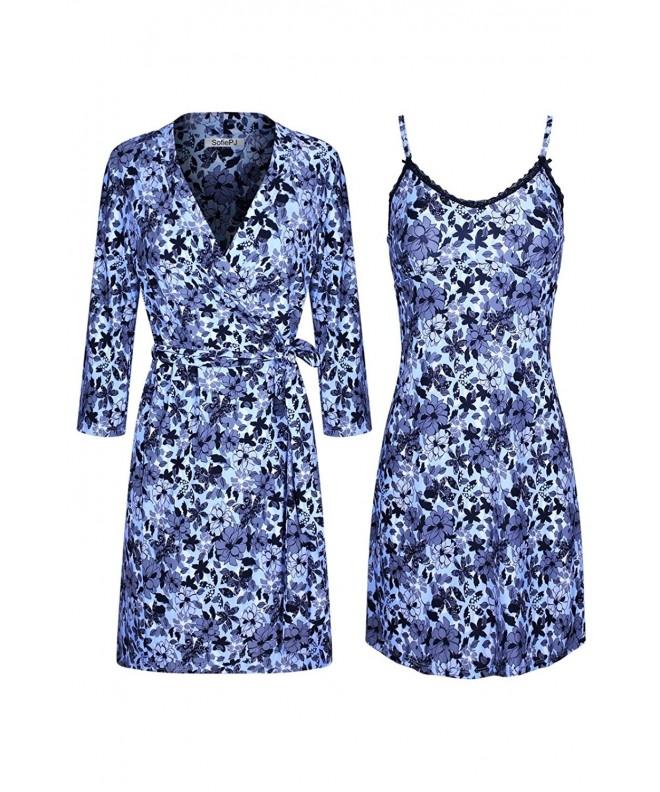 SofiePJ Womens Printed Sleepwear Chemise