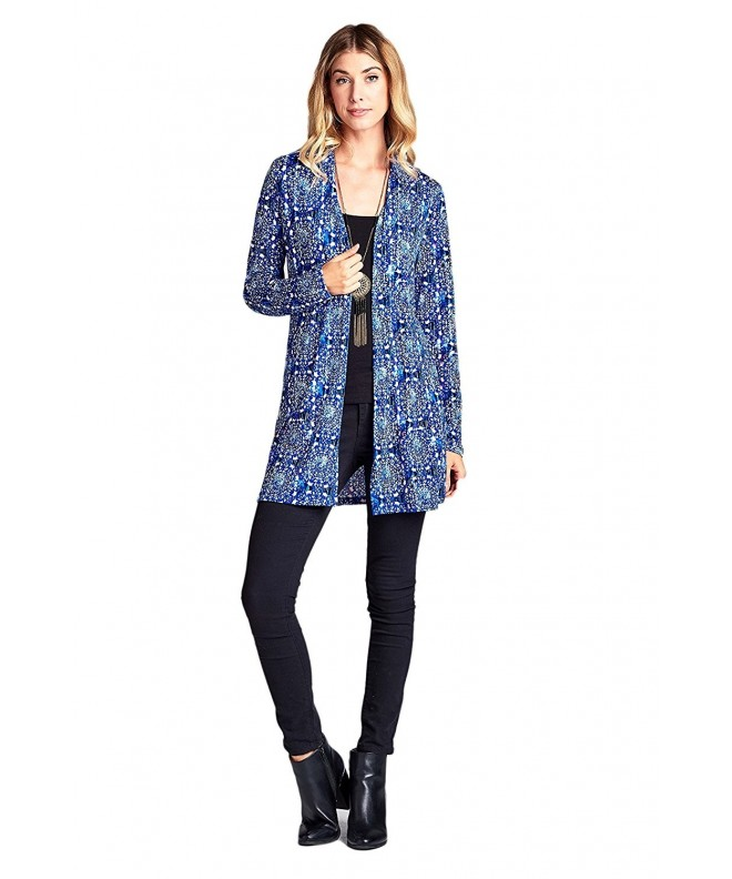 ReneeC LKLUV Womens Lightweight Cardigan