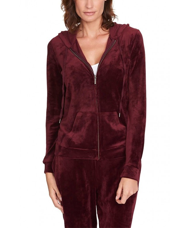Gloria Vanderbilt Ladies Velour Jackets