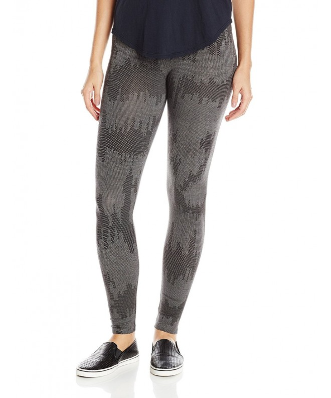 Alternative Printed Legging Heather Patchwork