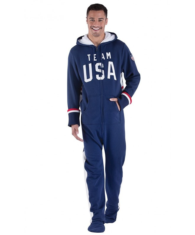 PajamaGram Hooded Onesie Footed Pajamas
