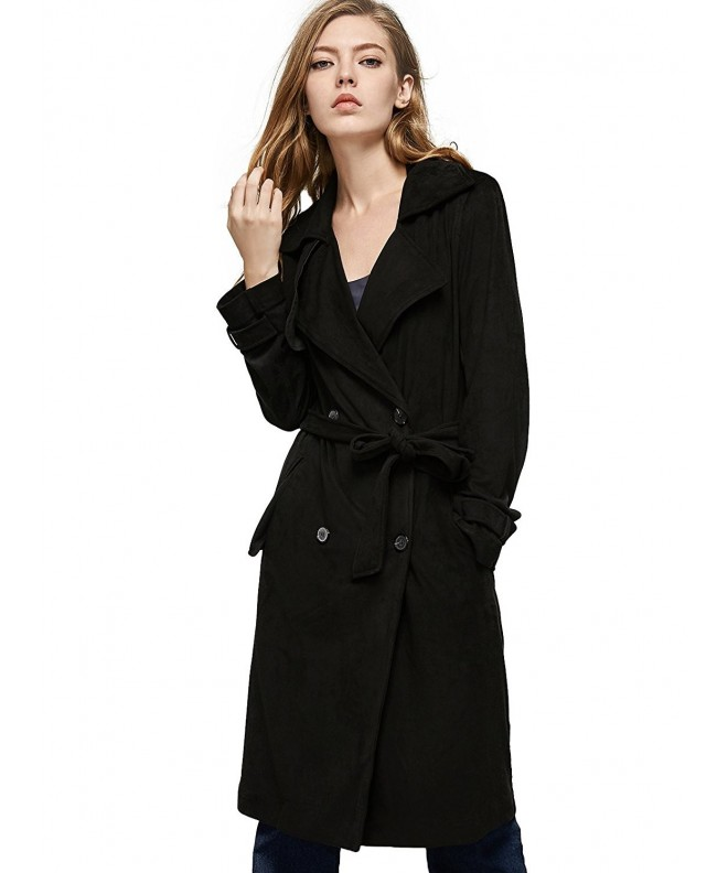 Escalier Women Trench Double Breasted