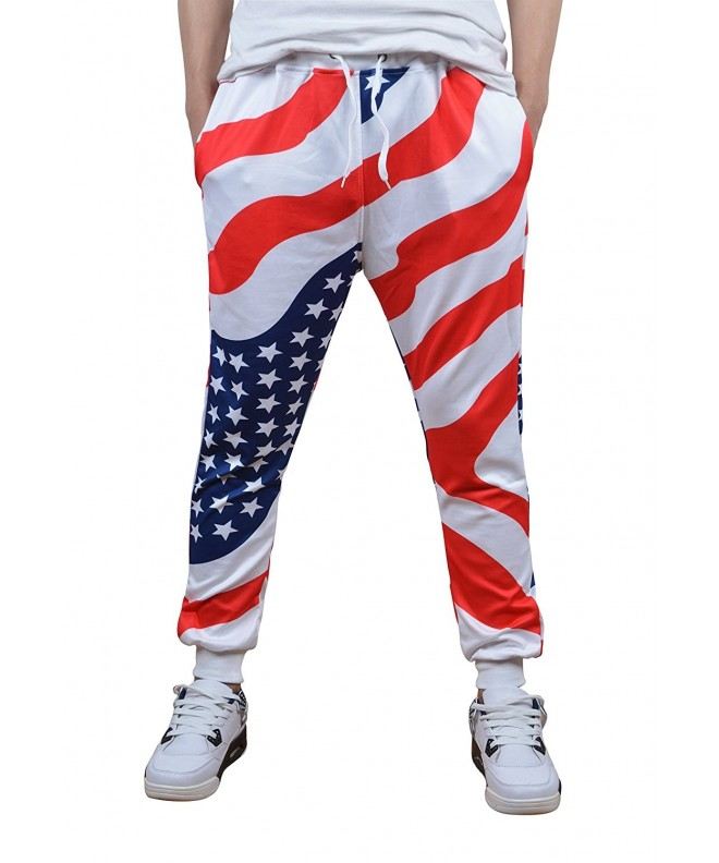 Hipster Cartoon American Printed Tracksuit