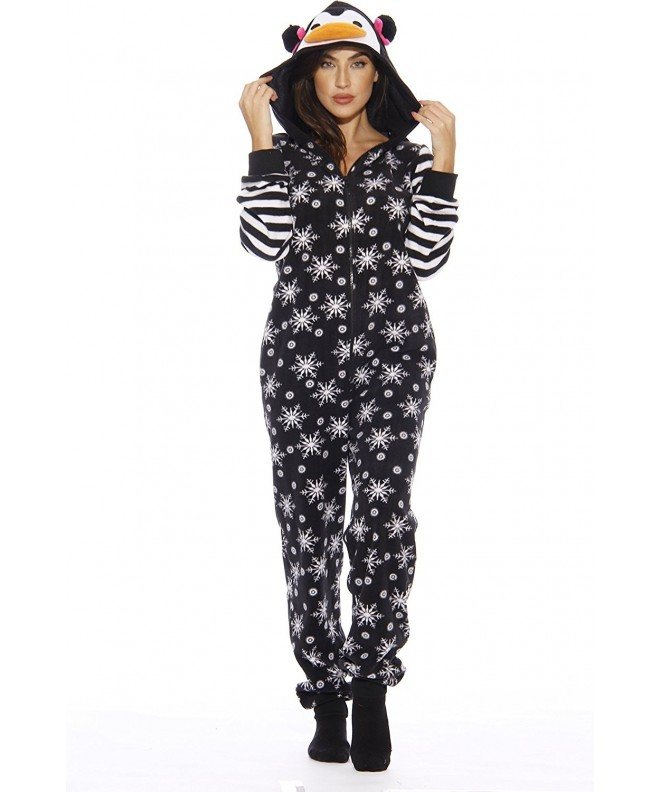 6255 Adult Onesie Pajamas Penguin