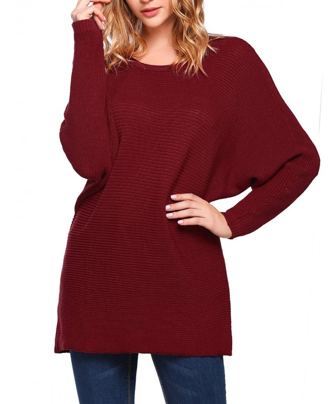 Soteer Women Sleeve Sweater Pullover