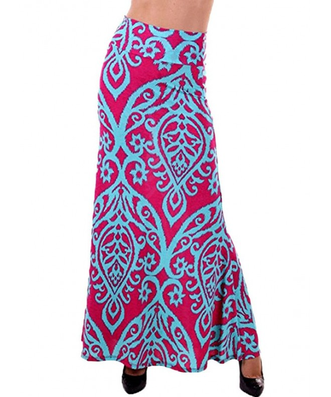 JomeDesign Womens Summer Damask Printed