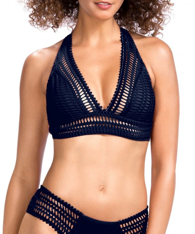 TRANGEL Halter Triangle Crochet Bathing
