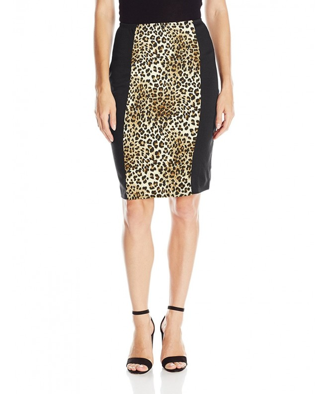 Star Vixen Slimming Colorblock Leopard
