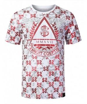 URBANCREWS Hipster Money Print T Shirt